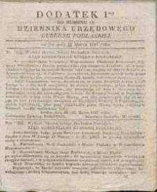 Dziennik Urzędowy Gubernii Podlaskiej 1837 nr 12 (dodatek 1)