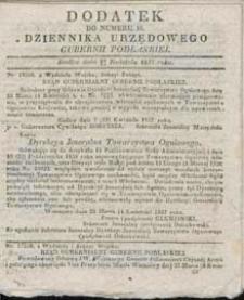 Dziennik Urzędowy Gubernii Podlaskiej 1837 nr 16 (dodatek)