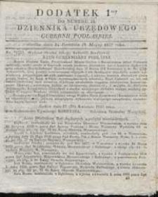 Dziennik Urzędowy Gubernii Podlaskiej 1837 nr 18 (dodatek 1)