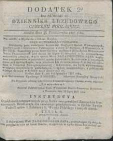 Dziennik Urzędowy Gubernii Podlaskiej 1837 nr 42 (dodatek 2)