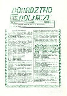 Doradztwo Rolnicze R.2 (1991) nr 16