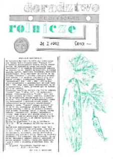 Doradztwo Rolnicze R. 3 (1992) nr 2 (27)