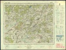 Mapa topograficzna Polski : Łomazy Słup 41 Pas 36