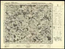 Mapa topograficzna Polski : Łosice Słup 40 Pas 35