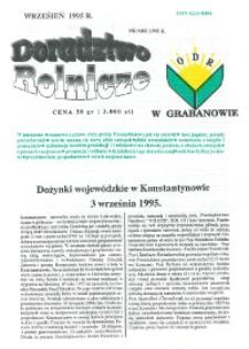 Doradztwo Rolnicze R. 6 (1995) nr 9 (85)