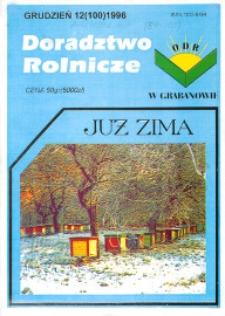 Doradztwo Rolnicze R. 7 (1996) nr 12 (100)