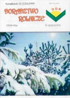Doradztwo Rolnicze R. 9 (1998) nr 12 (124)