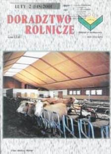 Doradztwo Rolnicze R. 12 (2001) nr 2 (148)