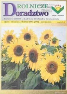 Doradztwo Rolnicze R. 13 (2002) nr 7-8 (165-166)