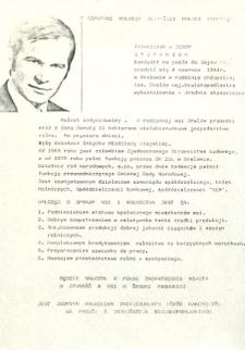Ulotka wyborcza kandydata na posła Franciszka Stefaniuka