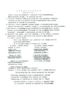 Ulotka wyborcza kandydatów do parlamentu : Andrzeja Czapskiego, Mieczysława Trochimiuka i Jacka Szymanderskiego