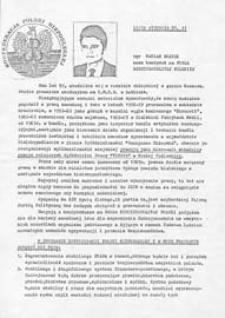Ulotka wyborcza kandydata na posła Mariana Bujnika
