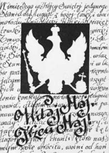 Program imprez z okazji Trzeciego Maja w Białej Podlaskiej : afisz