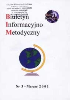 Biuletyn Informacyjno-Metodyczny R. 1 (2001) nr 3