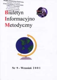 Biuletyn Informacyjno-Metodyczny R. 1 (2001) nr 9