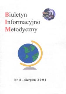Biuletyn Informacyjno-Metodyczny R. 1 (2001) nr 8