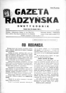 Gazeta Radzyńska R. 3 (1935) nr 16