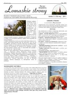 Łomaskie Strony : biuletyn mieszkańców Łomaz i okolic R. 3 (2011) nr 5 (19)