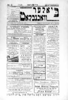 Bialer Wochenblat : organ fur der cjonistyszer organizacje in Bialer Podlaska R. 2 (1935) nr 41