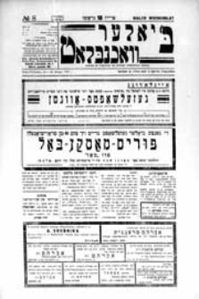 Bialer Wochenblat : organ fur der cjonistyszer organizacje in Bialer Podlaska R. 4 (1937) nr 8