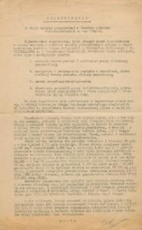 Sprawozdanie ze stanu oświaty pozaszkolnej w Obwodzie Szkolnym Bialsko-Podlaskim za rok 1933/34