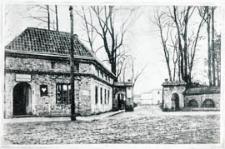 Kordegarda i brama wjazdowa do Parku Radziwiłłowskiego w Białej Podlaskiej