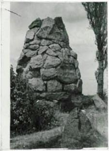 Obelisk na cmentarzu żołnierzy niemieckich i austriackich poległych w czasie I wojny światowej - w Białej Podlaskiej przy ul. Pokoju