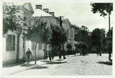 Budynek Liceum Ogólnokształcacego im. J.I. Kraszewskiego w Białej Podlaskiej