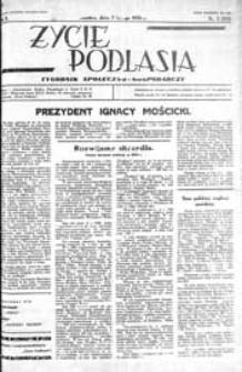 Życie Podlasia: pismo społeczno-gospodarcze R. 3 (1936) nr 5 (92)