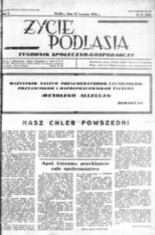 Życie Podlasia: pismo społeczno-gospodarcze R. 3 (1936) nr 15 (102)