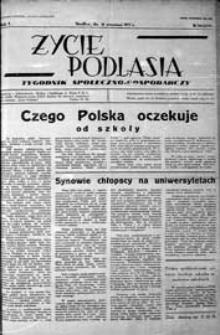 Życie Podlasia: pismo społeczno-gospodarcze R. 3 (1936) nr 36 (123)