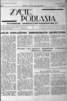 Życie Podlasia: pismo społeczno-gospodarcze R. 3 (1936) nr 41 (128)