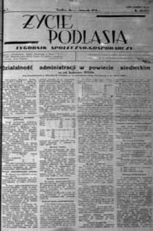 Życie Podlasia: pismo społeczno-gospodarcze R. 3 (1936) nr 48 (135)
