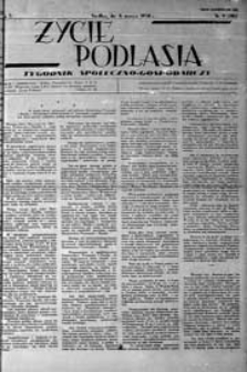 Życie Podlasia: pismo społeczno-gospodarcze R. 5 (1938) nr 9 (201)