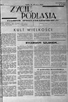 Życie Podlasia: pismo społeczno-gospodarcze R. 5 (1938) nr 11 (203)