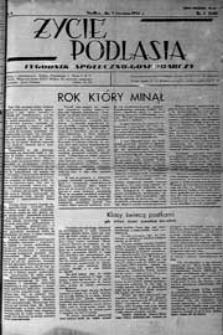 Życie Podlasia: pismo społeczno-gospodarcze R. 4 (1937) nr 1 (140)