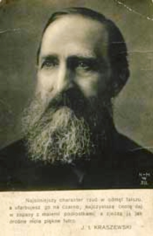 Kraszewski Józef Ignacy [dokument ikonograficzny]