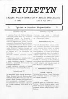 Biuletyn Urzędu Wojewódzkiego w Białej Podlaskiej R. 2 (1995) nr 19