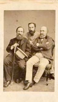 Bracia Kraszewscy : Józef Ignacy, Kajetan i Lucjan w Dreźnie