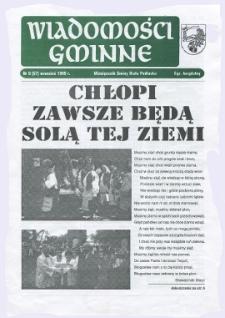 Wiadomości Gminne : miesięcznik gminy Biała Podlaska R. 5 (1999) nr 9