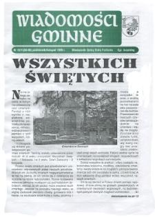 Wiadomości Gminne : miesięcznik gminy Biała Podlaska R. 1 (1999) nr 10-11