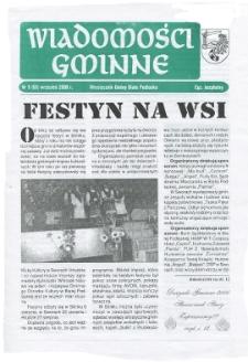 Wiadomości Gminne : miesięcznik gminy Biała Podlaska R. 2 (2000) nr 9