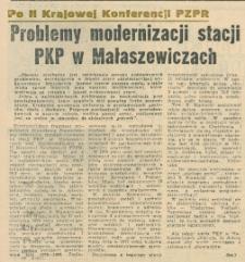 Problemy modernizacji stacji PKP w Małaszewiczach