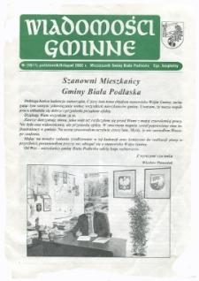 Wiadomości Gminne : miesięcznik gminy Biała Podlaska R. 4 (2002) nr 10-11