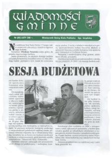 Wiadomości Gminne : miesięcznik gminy Biała Podlaska R. 6 (2004) nr 2