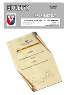 Biuletyn Informacyjny Urzędu Gminy w Terespolu R. 13 (2004) nr 6