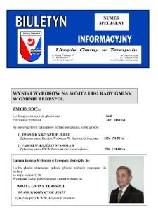 Biuletyn Informacyjny Urzędu Gminy w Terespolu R. 15 (2006) nr specjalny