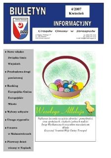 Biuletyn Informacyjny Urzędu Gminy w Terespolu R. 16 (2007) nr 4