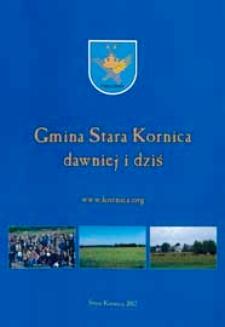 Gmina Stara Kornica dawniej i dziś