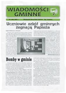 Wiadomości Gminne : miesięcznik gminy Biała Podlaska R. 7 (2005) nr 5
